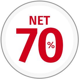 net 70