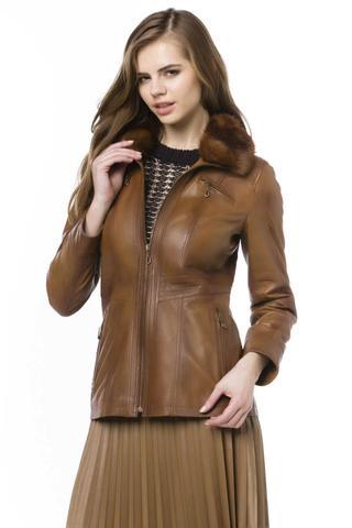 Mira Kadın Deri Ceket