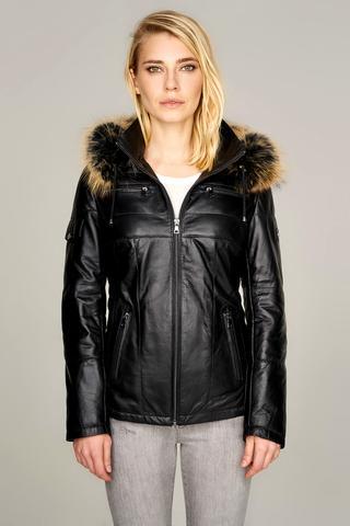 Nora Kadın Deri Ceket