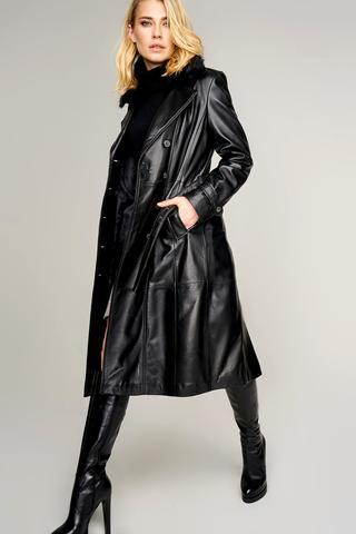 Brenda Kadın Deri Ceket