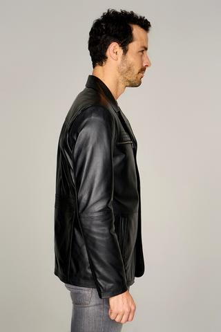 Jeremy Erkek Deri Ceket