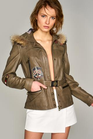 Layla Kadın Deri Ceket