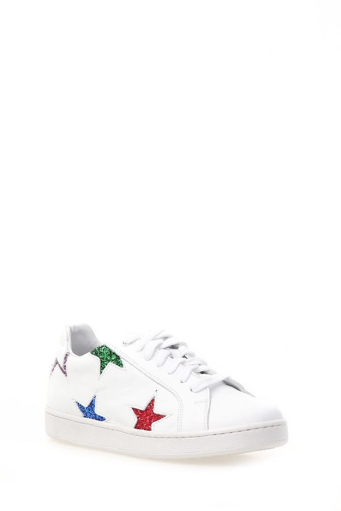 5637862475 Yıldız Detaylı Kadın Sneaker