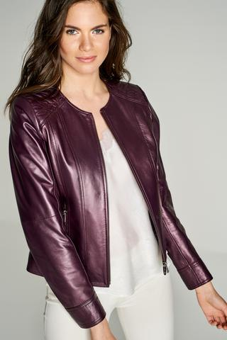 Adela Kadın Deri Ceket