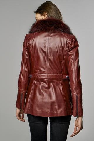 Emily Kadın Deri Ceket