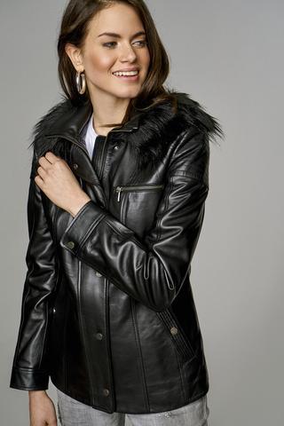 Veronica Kadın Deri Ceket