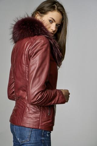 New Cortina Kadın Deri Ceket