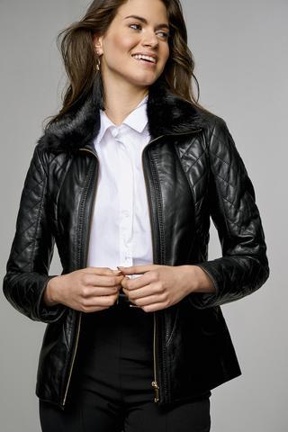 Belinda Kadın Deri Ceket