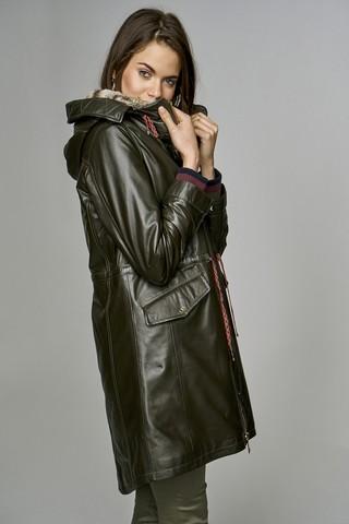 Valentina Kadın Deri Ceket