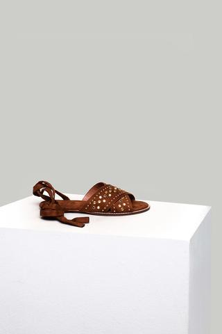 Süet Kadın Sandalet