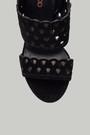 5637846679 Süet Kadın Topuklu Deri Sandalet