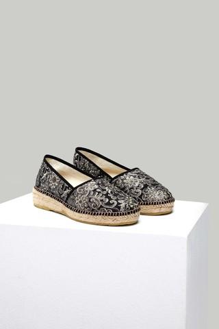 Kadın Hasır Detaylı Espadril Ayakkabı
