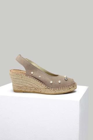Kadın Süet Deri Sandalet