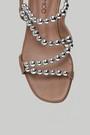5637875196 Kadın Boncuklu Sandalet