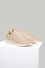 5637848909 Zımba Detaylı Gold Kadın Spor Ayakkabı
