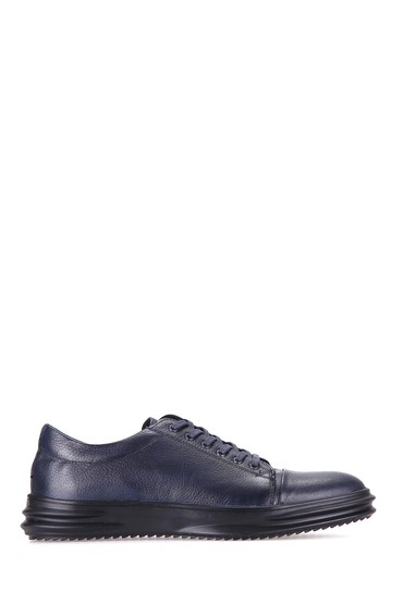 5637927145 Erkek Deri Sneaker