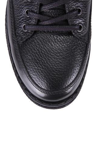 Süet Detaylı Erkek Deri Ayakkabı