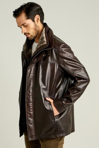 Eduardo Erkek Deri Ceket