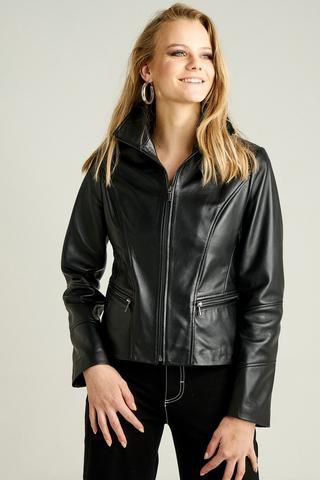 Martha Kadın Deri Ceket