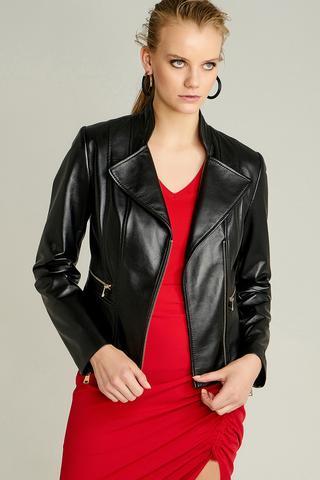 Tina Kadın Deri Ceket