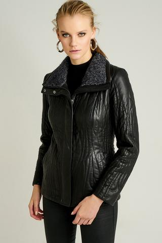 Daniela Kadın Deri Ceket