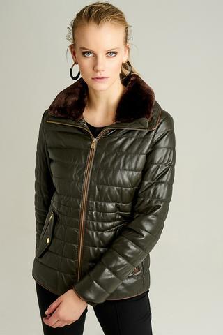 Linda Kadın Deri Ceket