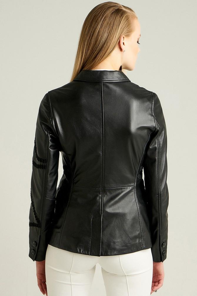 5637972753 Sevilla Kadın Deri Ceket