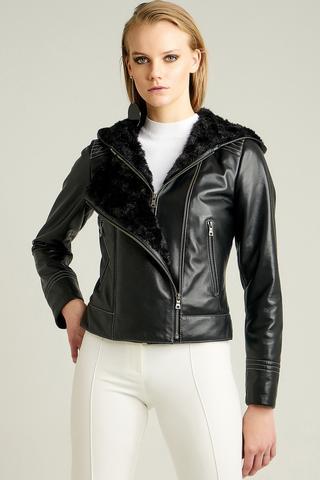 Cindy Kadın Deri Ceket