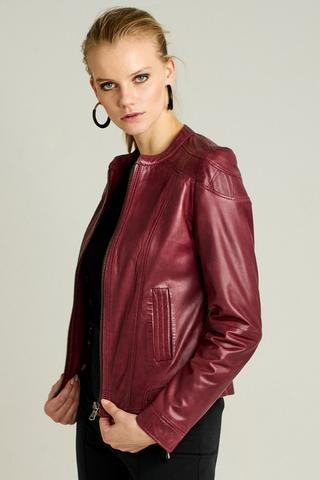 Glam Kadın Deri Ceket