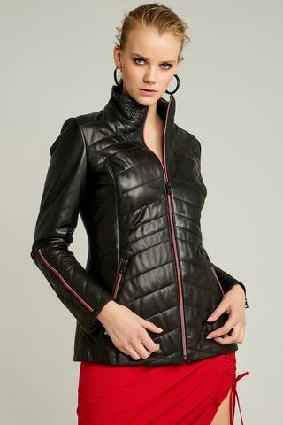 Madison Kadın Deri Ceket
