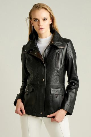 Melrose Kadın Deri Ceket
