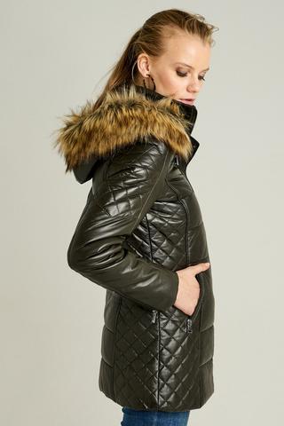 Blanch Long Kadın Deri Ceket