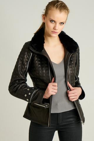 Anabella Kadın Deri Ceket