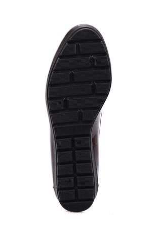 Kadın Zincir Detaylı Dolgu Topuklu Ayakkabı