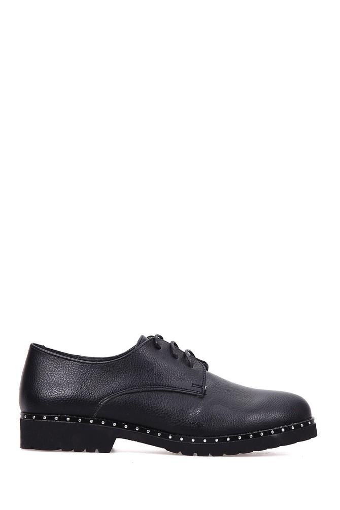 5637907417 Zımba Detaylı Kadın Ayakkabı
