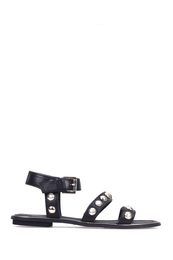 Siyah Kadın Sandalet 5637626625