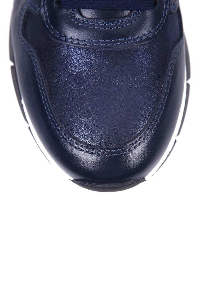 5637934091 Kadın Fermuar Detaylı Sneaker