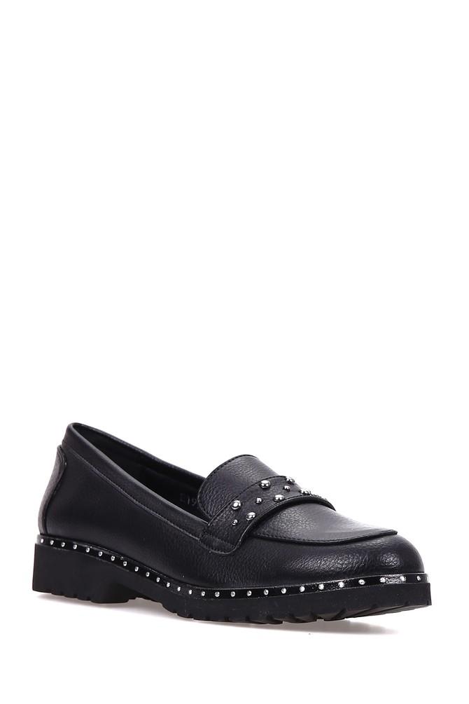 5637907386 Zımba Detaylı Kadın Mat Ayakkabı