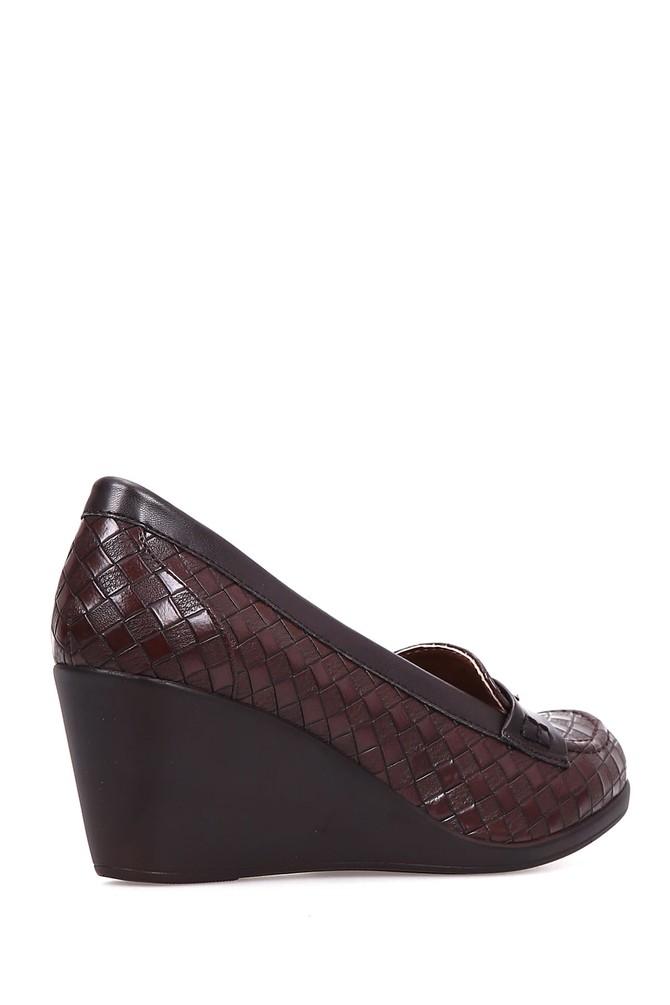5637891804 Kadın Dolgu Topuklu Ayakkabı