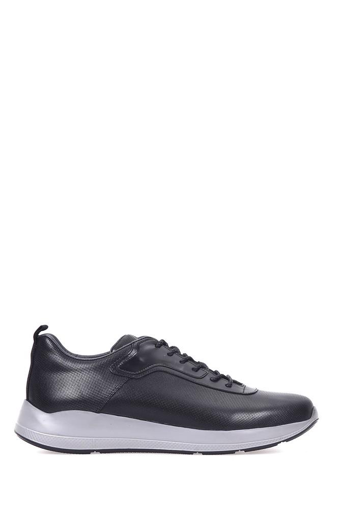 Siyah Erkek Tabanlı Sneaker 5637949117