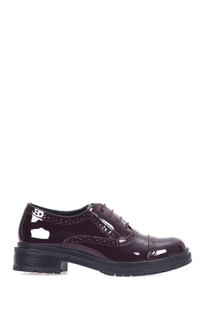 5637891679 Kadın Rugan Ayakkabı