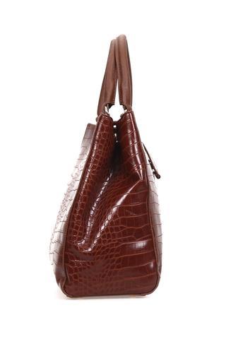 Kroko Desenli Kadın Çanta