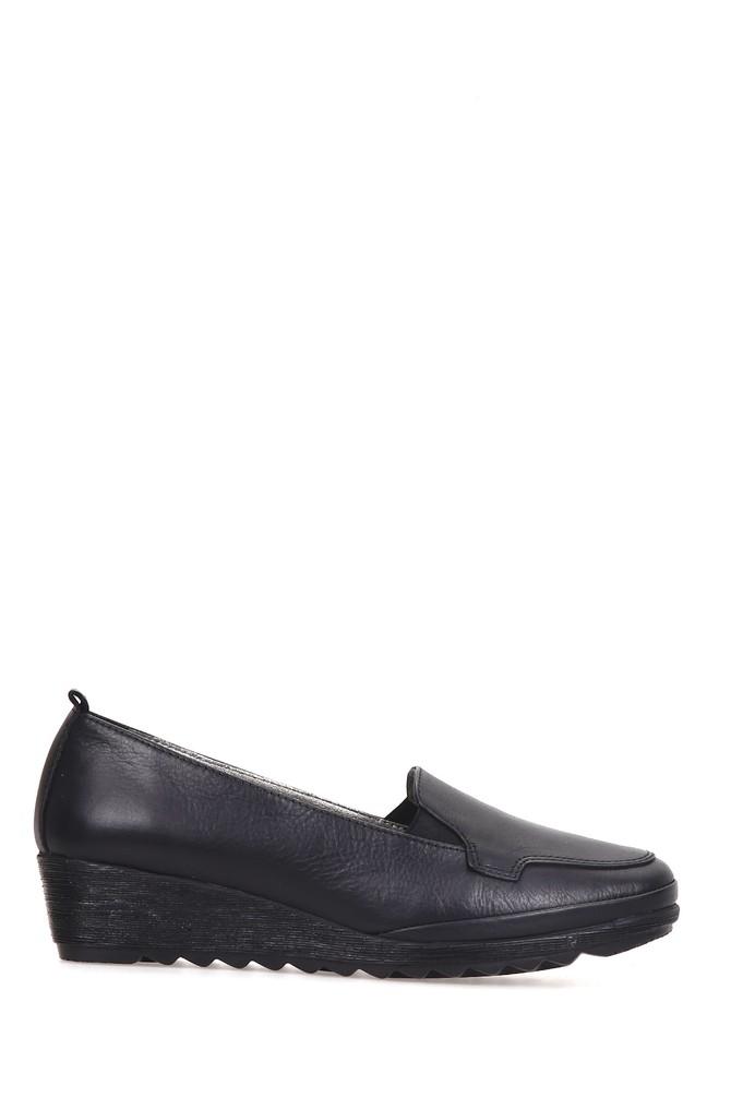 Siyah Kadın Comfort Ayakkabı 5637936850