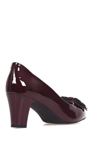 Kadın Rugan Fiyonklu Ayakkabı