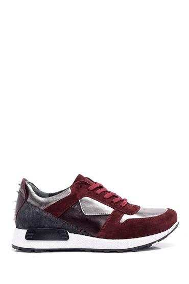 5637934102 Kadın Gümüş Detaylı Sneaker