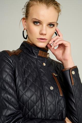 Julia Kadın Deri Ceket