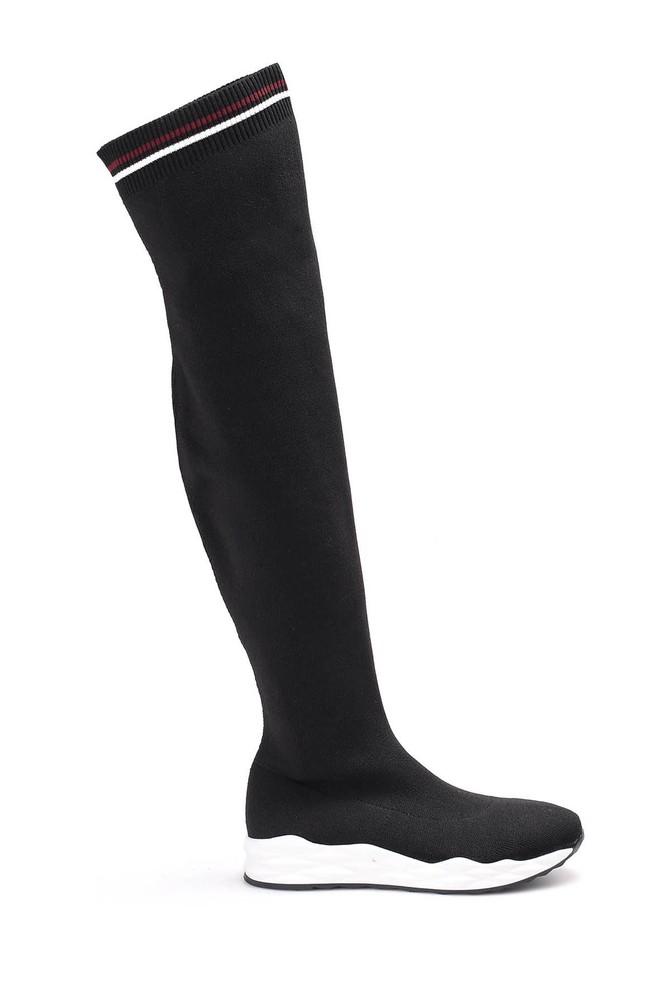 5637998902 Kadın Çorap Çizme