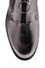 5637936050 Kadın Yüksek Tabanlı Gümüş Sneaker