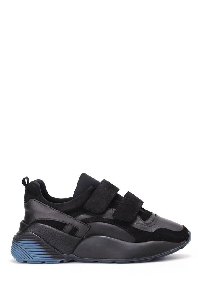 Siyah Kadın Yüksek Tabanlı Sneaker 5637973330