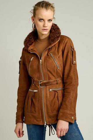 Shakira Kadın Deri Ceket